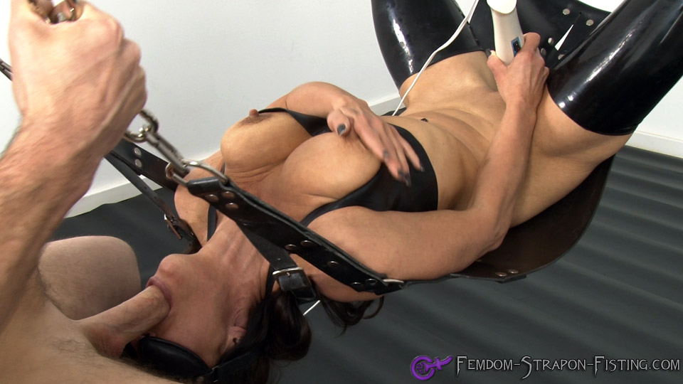female domination throatfuck